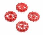 [로봇사이언스몰][Pololu][폴로루] Replacement Sprocket Set for Zumo Chassis - Red #3128