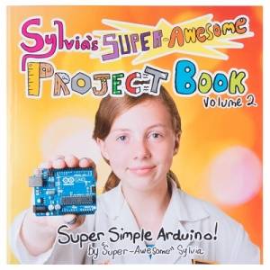 로봇사이언스몰[로봇사이언스몰][Sparkfun][스파크펀] Super-Awesome Sylvia's Super-Awesome Project Book bok-13232