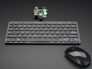 로봇사이언스몰[로봇사이언스몰] [Raspberry-Pi][라즈베리파이] Wireless Keyboard and Mouse Combo w/ Batteries - One USB Port! id:1738