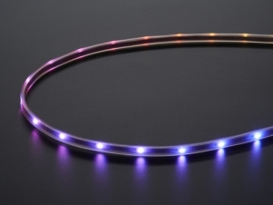 로봇사이언스몰[로봇사이언스몰][Adafruit][에이다프루트] Adafruit Mini Skinny NeoPixel Digital RGB LED Strip - 30 LED/m - WHITE id:2949