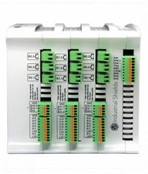 로봇사이언스몰[로봇사이언스몰] M-DUINO PLC Arduino 57R I/Os Rele / Analog / Digital SKU: IS.MDuino.57R