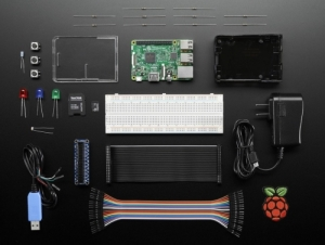 로봇사이언스몰[로봇사이언스몰][Raspberry-Pi][라즈베리파이] Raspberry Pi 3 Model B Starter Pack - Includes a Raspberry Pi 3 id:3058