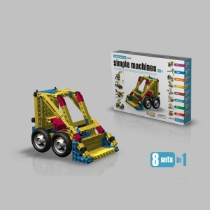 로봇사이언스몰[ENGINO]엔지노-기계과학-8 IN 1(Mechanica Science-SIMPLE MACHINES-8 SETS IN 1)