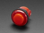 [로봇사이언스몰][Adafruit][에이다프루트] Arcade Button with LED - 30mm Translucent Red id:3489