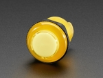 [로봇사이언스몰][Adafruit][에이다프루트] Arcade Button with LED - 30mm Translucent Yellow id:3488