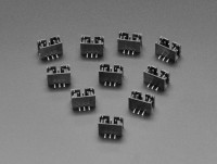 [로봇사이언스몰][Adafruit][에이다프루트] JST PH 3-pin Vertical Connector (10-pack) - STEMMA ID:4389
